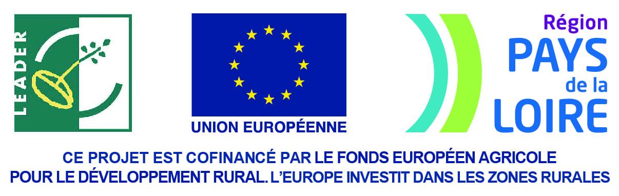 Co-financé par le fonds européen pour le développement rural